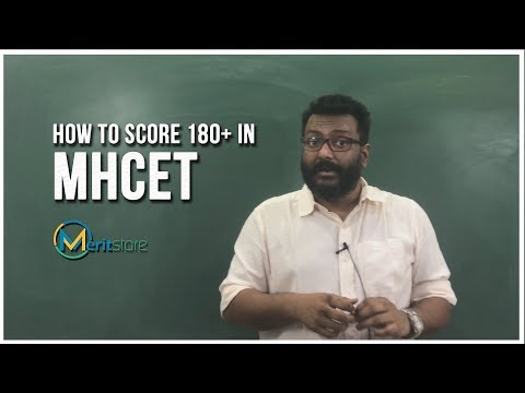 How to score 180+ in MHT CET
