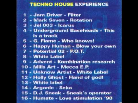 Cd techno house 2000 experience by dj alex g youtube for House music 1998
