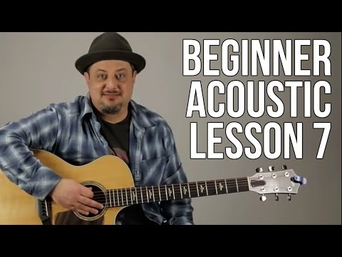 Beginner Lesson 7 F Major Chord