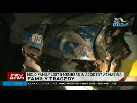 Molo family lost 5 members in accident at Magina