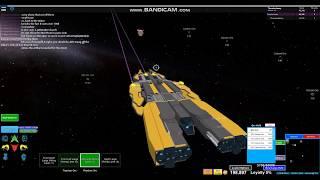 Roblox Galaxy Ship Review: Advanced Miner Class Galaxy [Non HD Remix Edition]