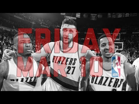 NBA Daily Show: Mar. 10 - The Starters