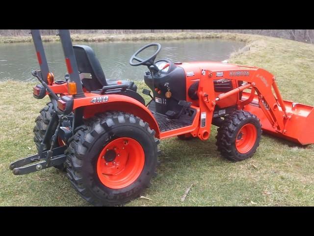 Kubota B2320 Farm Tractor   Kubota Farm Tractors: Kubota Farm ... on