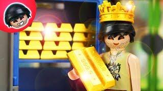 König Karlchen!    Playmobil Polizei Film   KARLCHEN KNACK #250