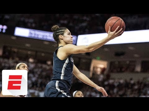 UConn rolls into Final Four of women's NCAA tournament with 94-65 win over South Carolina | ESPN
