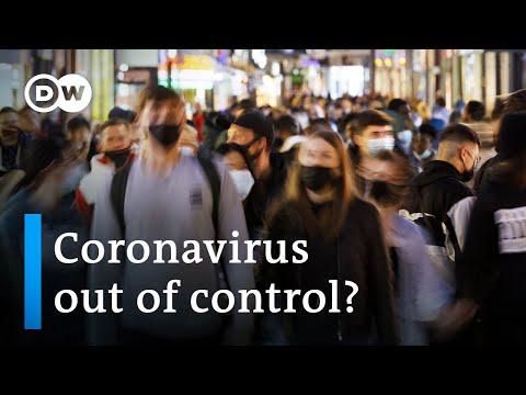 Coronavirus hotspots: Europe's