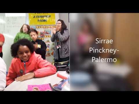 Sirrae Pinckney Palermo Math Hoops Championship Announcement   Rockfish Hoke Elementary School