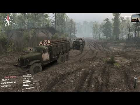 Spintires Chernobyl DLC - Sometimes you want to be inside the game |