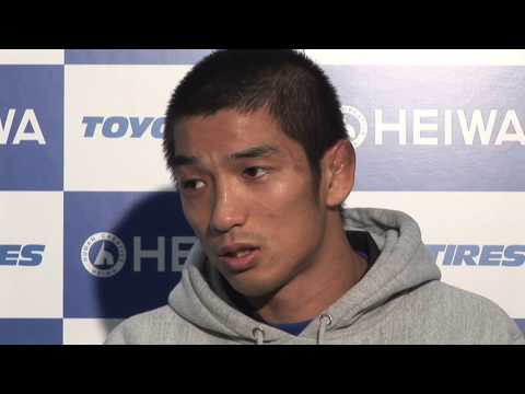 Hideo Tokoro - Post-Fight Interview - Oct.6.2009