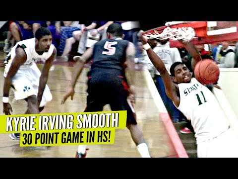 2 NBA PLAYERS ON 1 HS TEAM = UNFAIR! Kyrie Irving & Michael Kidd Gilchrist UNSTOPPABLE In HS!!