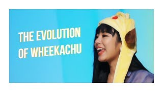 [#HAPPYWHEEINDAY] GET TO KNOW WHEEIN OF MAMAMOO THROUGH HER EVOLUTIONS