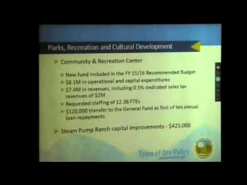 15 04 15 Town Manager Caton Presents 2015 16 TMRB Budget