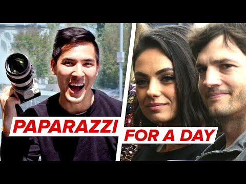 I Worked As Paparazzi For A Day