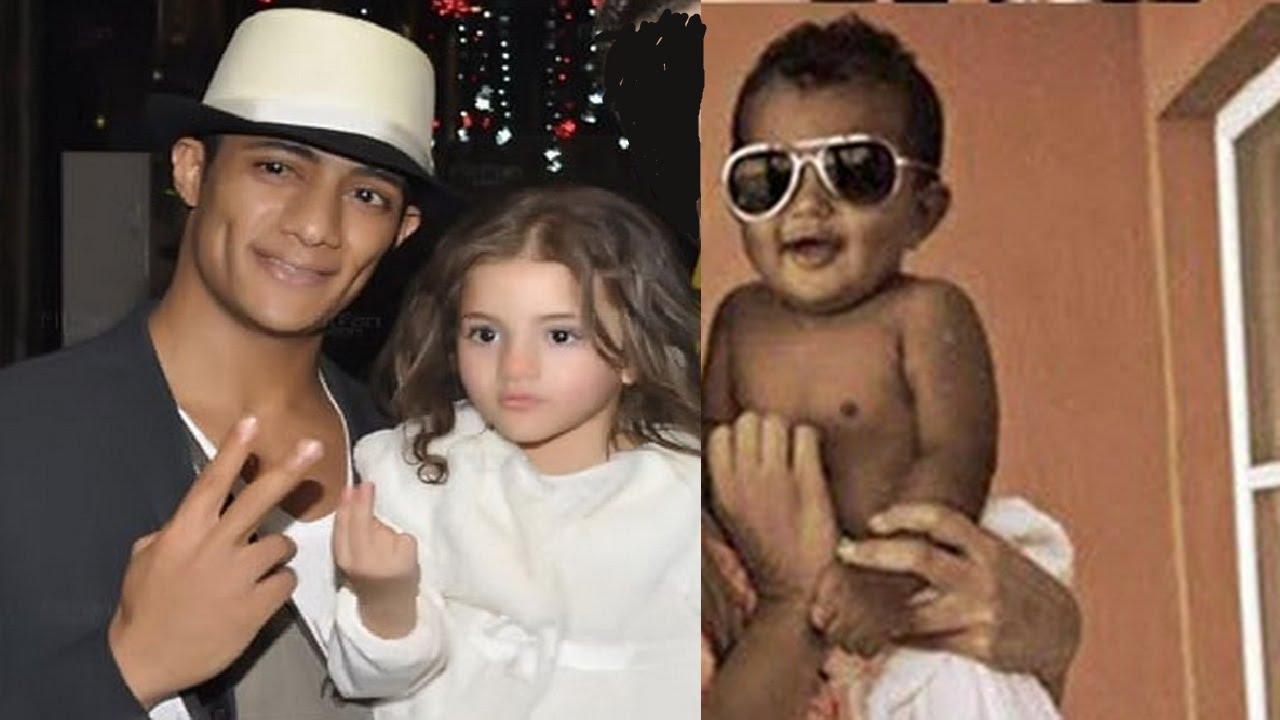 إختلاف كبير بالشكل بين ابنة محمد رمضان من زوجته الاولى وابنه من زوجته الثانية Youtube