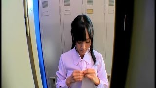 Cute Japanese Girl In The Locker Room