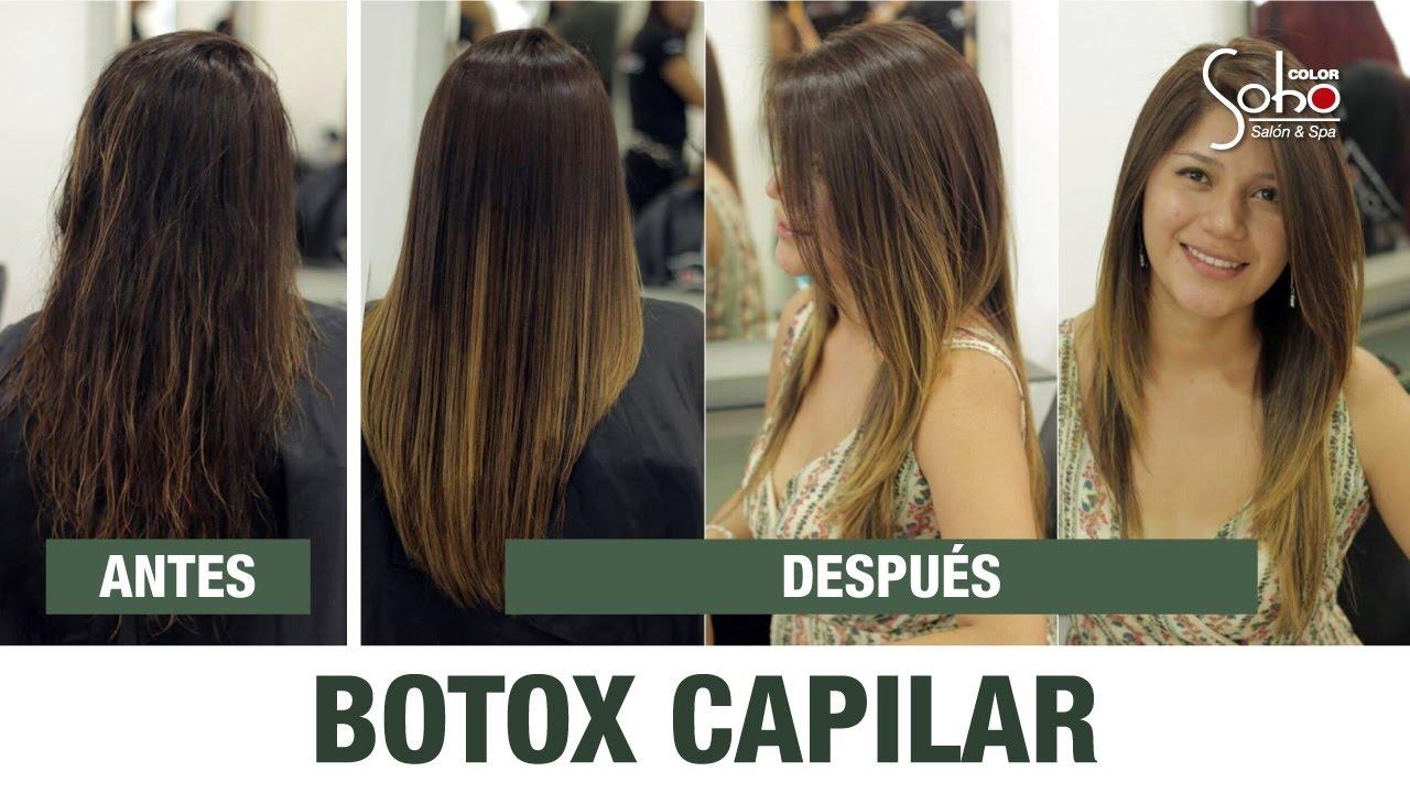 Botox para el pelo precio