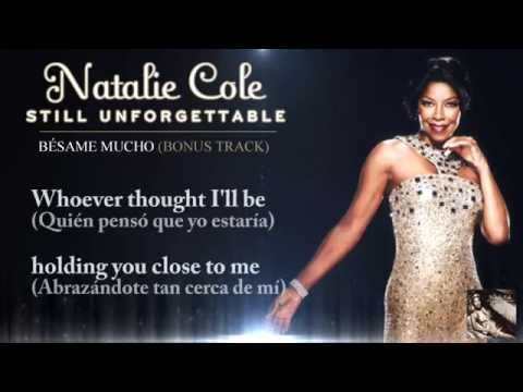 Bésame mucho - Natalie Cole (Lyric Video)
