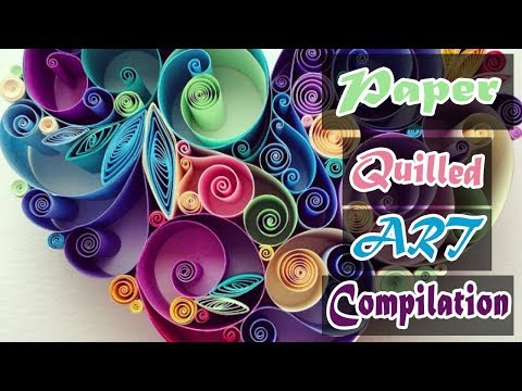 Paper Quilling Art Compilation by 3 Minute Crafts | Unique Home Decor Ideas