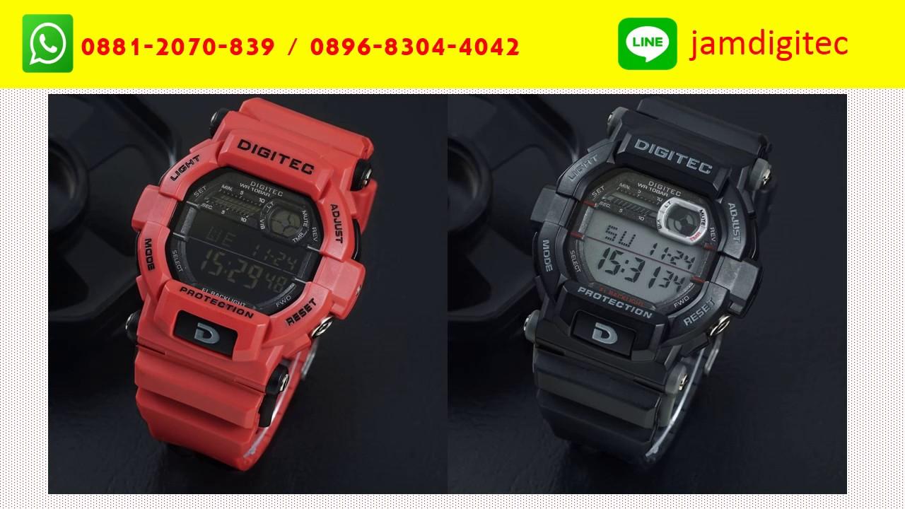 WA 0881 2070 839 Jam Tangan Digitec Pria Cowok Laki 2054 Digital