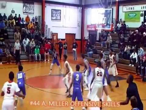 #44 Adam Miller-freshman guard Peoria Manual Rams 2016-2017