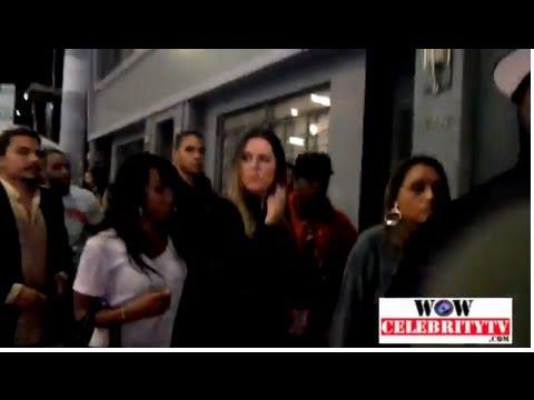 Khloe Kardashian spotted at Tru Nightclub in Hollywood
