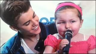 UNCLE PAUL babysits Justin Bieber