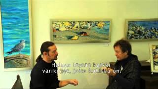 Art exhibition in Finland