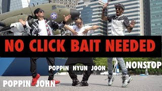NO CLICKBAIT NEEDED | POPPIN JOHN | POPPIN HYUN JOON | NONSTOP