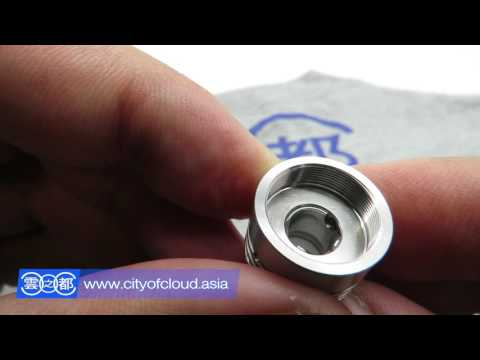 City of Cloud - Close Up | Athea INAX 18 MK2 - 18 mm Genesis Atomizer