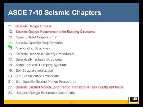 ASCE 7-10 Seismic Design Provisions