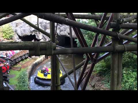 Alton Towers - Congo River Rapids and Runaway Mine Train