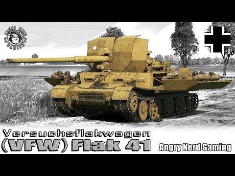 War Thunder: Versuchsflakwagen (VFW) Flak 41, German, Tier-3, Tank Destroyer