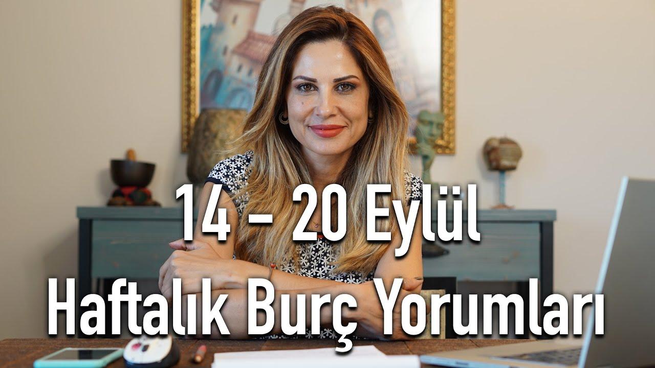 14 20 Eylul Haftalik Burc Yorumlari Hande Kazanova Ile Astroloji Youtube