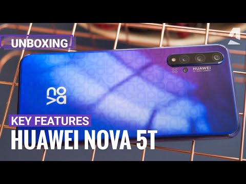Huawei Nova 5T Unboxing And Key Features