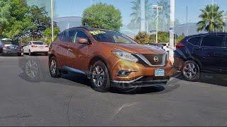 2016 Nissan MURANO Sport Utility SV Mel Rapton Honda Quality Pre-Owned Vehicle, serving Sacramento