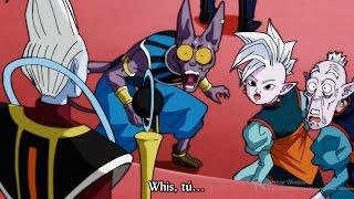 Daishinkan Informa a los Dioses sobre los Universos que iban hacer eliminados - Sub. Latino