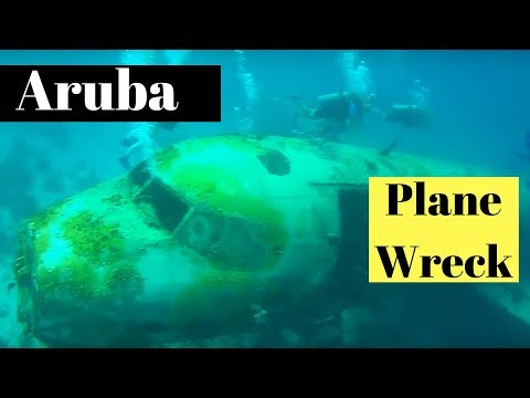 Scuba Diving Aruba Plane Wrecks