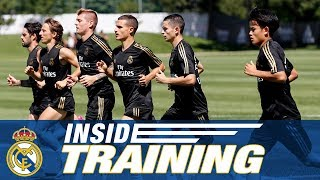 Real Madrid's last training day in Montreal!