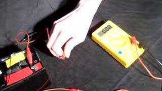 Read Amps using a multimeter