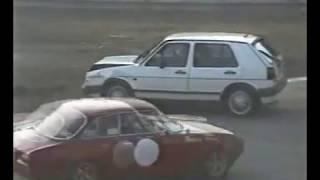 Monza speed day 1991 prima variante doppia crash & chicche