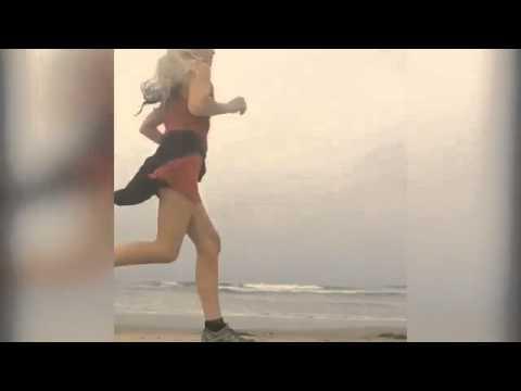 Beach babe! Yasmina enjoys work out on the Malibu sands