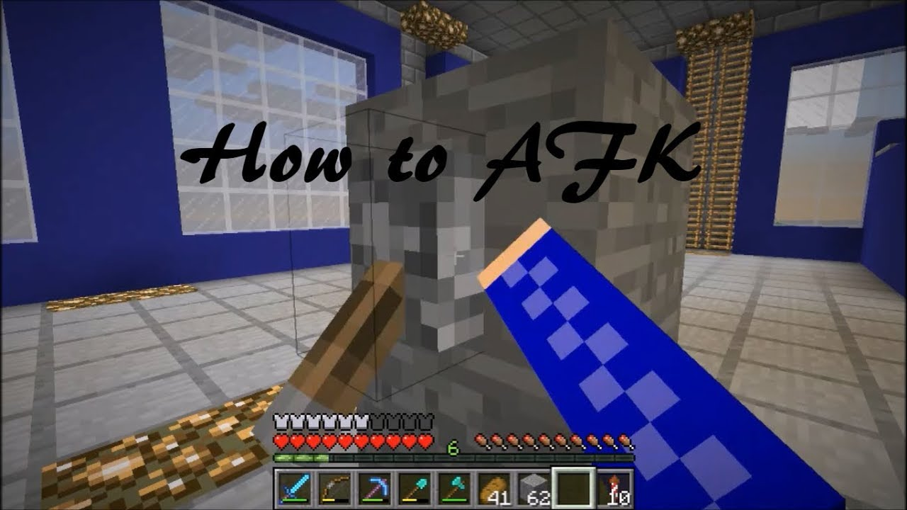 How To AFK On A Minecraft Server Without Getting Kicked YouTube - Minecraft cracked server erstellen aternos