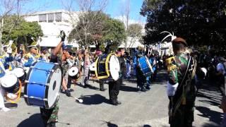 Dewaruci Marching Band visits Freo