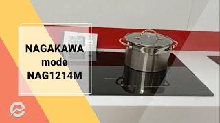 BẾP TỪ NAGAKAWA NAG1214M Giá bán 7.900k tặng bộ nồi Nagakawa 3 chiếc inox cao cấp.