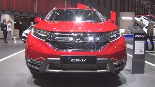 Cover images Honda CR-V 1.5 i-VTEC 4WD Lifestyle CVT 7 places (2019) Exterior and Interior