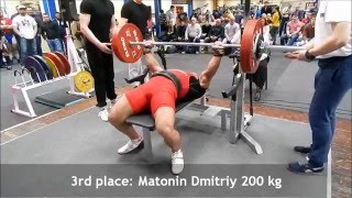 Championship of St.Petersburg on classic bench press 06.03.2016, Men 93 kg(, 2016-03-14T07:00:00.000Z)
