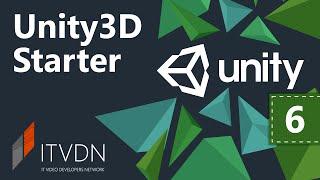 Unity3D Starter. Урок 6. Анимации.