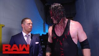 The fear of a possible Braun Strowman return consumes The Miz: Raw, Oct. 30, 2017