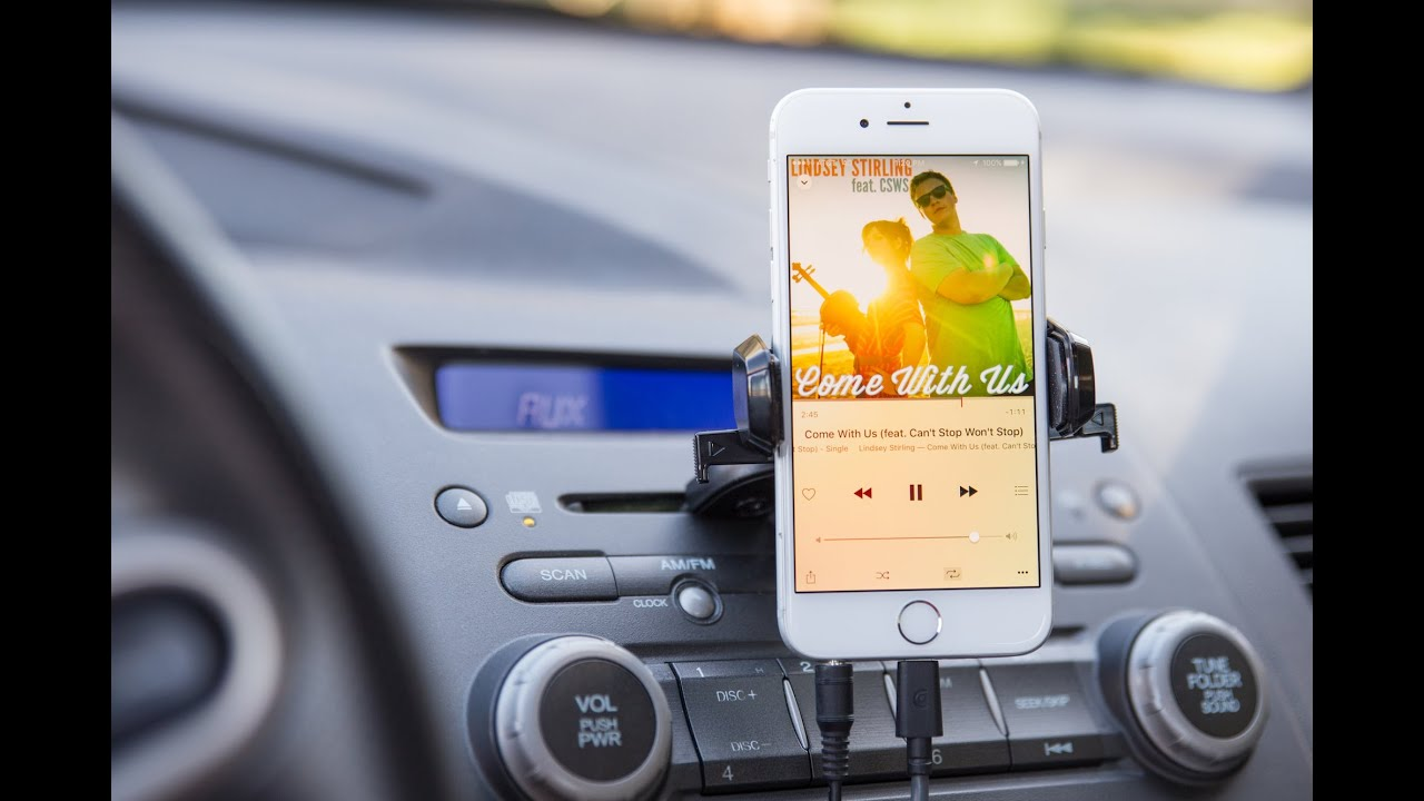The best car mount holder for iphone and smartphones iottie youtube
