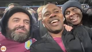 Harmonize, Kitenge, Kikeke, Bongo Zozo walivyoshuhudia mchezo wa Aston Villa vs Leicester City